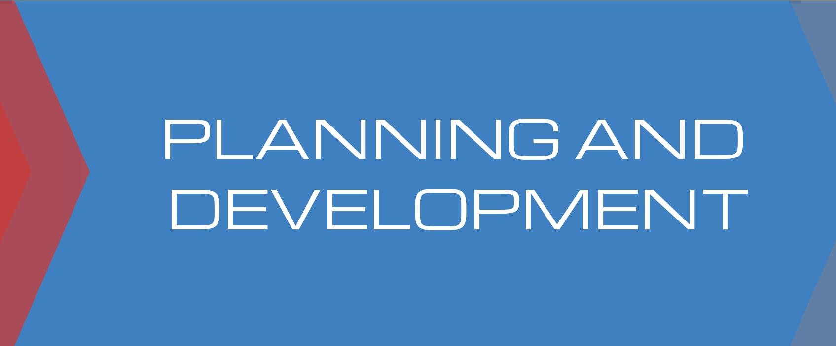 Planning And Development