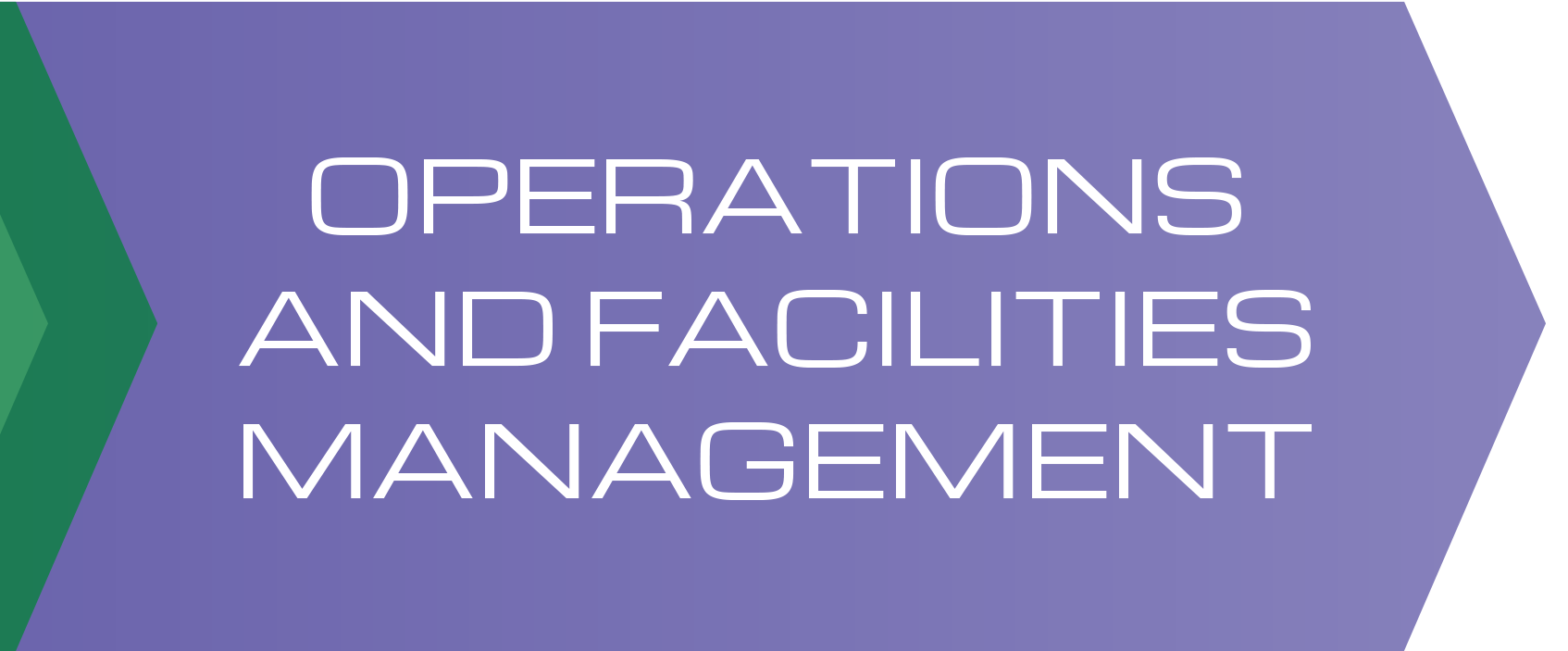 Operations And Facilities Management